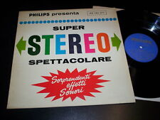 """Various """"Super Stereo Spettacolare"""" LP PHILIPS 88 140 DY ITA"""