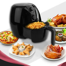 1300W Black Electric Air Fryer Low-Fat Multi-Cooker Rapid Air Technology Actifry