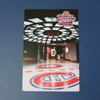 MONTREAL CANADIENS   postcard  Hall of Fame  Temple de la renommee  Loto Quebec