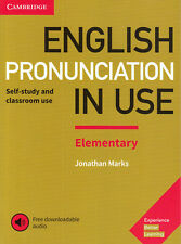 Cambridge ENGLISH PRONUNCIATION IN USE Elementary Book w Downloadable Audio @NEW
