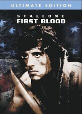 First Blood Sylvester Stallone (DVD, 2004, WS, Ultimate Edition) LikeNEW