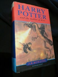Harry Potter and the Goblet of Fire by J. K. Rowling HBDJ 2000 1st ed. OOP LN