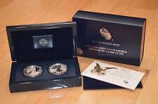 2012 SILVER EAGLE SAN FRANCISCO 2 COIN SILVER PROOF SET WITH ALL OGP