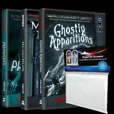 AtmosFEARfx Digital Video Projection DVD Bundle - Halloween Haunted House Prop