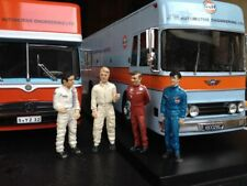 4  FIGURINES 1/43  SET 409   PORSCHE  917  LE  MANS  1970  VROOM  A  PEINDRE