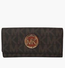 Michael Kors Fulton Flap Continental 35H3GFTE1B NWT $158.00