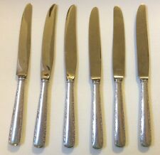 """6 Gorham Sterling """"Camelia"""" Hollow Knives"""