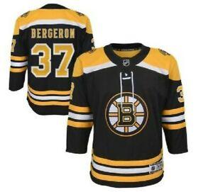 NHL Premier Boston Bruins #37 Hockey Jersey New Youth Sizes MSRP $100