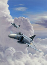 McDonnell Douglas F-4J (UK) Phantom  74 Squadron Aircraft Painting Art Print