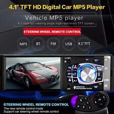 "4.1"" Bluetooth V.2.0 In-Dash Stereo Radio HD Car MP5 MP3 USB AUX Player Camera"