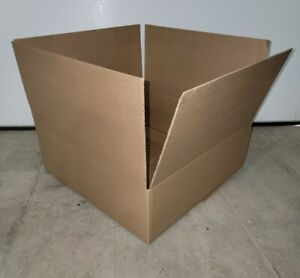 "18x18x6 SHIPPING BOXES FALK  25 Pack Boxes With Hand Holes 18""x18""x6"""