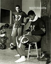 CFL 1950 Winnipeg Blue Bombers Jake Jacob & Tom Casey  8 X 10 Photo Picture