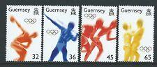 Guernesey 2004 Athènes Jeux Olympiques non Montés Excellent État , MNH