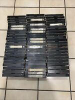 Lot Of 60 Pre-Recorded VHS Video Cassettes Tapes vintage movies Sellin As Blanks