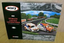 Corgi 05508 Mini 7 Racing Club 1999 Miglia & Se7en Brands Hatch Diorama 2/6000