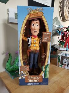 Disney Toy Story 4 Talking Sheriff Woody Interactive Action Figure Doll