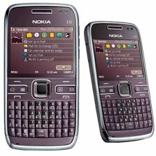 Nokia E72 Unlocked Original Bluetooth MP3 Purple GPS WIFI 3G Bar Mobile Phone