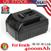 18V BAT609 BAT611 BAT612 BAT618G BAT620 Li-ion 4.0Ah Battery for Bosch 18V Tools