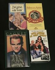Lot of 4 VHS Mickey Rooney Classic Comedy Andy Hardy old movies Judy Garland