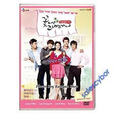 """""""BUY 5 GET 1 FREE"""" Flower Boy Ramyun Shop Korean Drama (4DVDs) GOOD_ENG SUBS"""