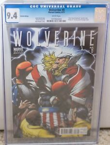 Wolverine #8 CGC 9.4 Thor Goes to Hollywood Variant