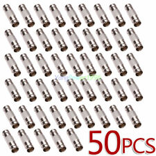 50 Pcs BNC Female To BNC Female Connector couplers Adapter For CCTV Video Camera