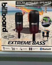 BILLBOARD Wireless Solar Powered Speaker Set w/Bluetooth - SHIPS FREE!