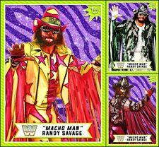 Topps SLAM WWE Macho Man Randy Savage 1st Anniversary [3 CARD SET] LIMITED