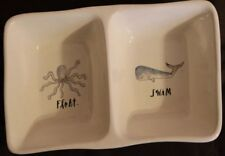 Rae Dunn Octopus Float And Whale Swim  Candy Dish