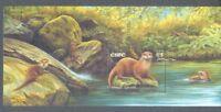 Ireland-Otter Min sheet 2002 Mammals mnh