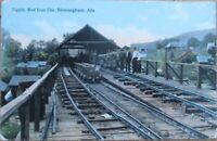 Birmingham, AL 1913 Postcard: Tipple, Red Iron Ore, Railroad - Alabama