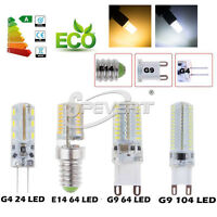 1/10/20X3W 5W G9 G4 LED Ampoule Spotight 3014 SMD Froid Chaud Blanche Lampe Bulb