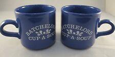 VINTAGE RETRO BATCHELORS CUP-A-SOUP MUGS x 2    Advertising Mugs