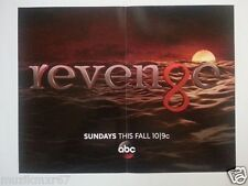 SDCC Comic Con Handout ABC Revenge DUAL SIDED POSTER