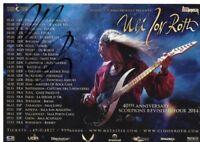 Uli Jon Roth,Promotionkarte,  original unterschrieben,pers. gesammelt