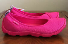 CROCS Womens Size 7 Duet Busy Day Mesh Flat Candy Pink Standard Fit 202048-6X3