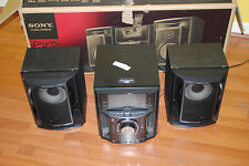 Sony LBT LCD77Di Muteki Shelf Stereo System (Black) AS-IS parts or repair