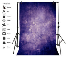 Abstract Grunge Purple Texture Backdrop 6.5x10ft Background Photography Props