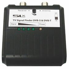 SLX 27868HS Terrestrial Freeview DVBT/Satellite TV Signal Finder, Inc Compass