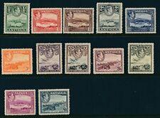 SG 98 - 109 Antigua 1938 set of 12 ½d - £1 unmounted mint CAT £130