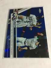 2017 Topps Chrome Sapphire BIG FISH Dynamic Trio is the Catch of the Day Marlins