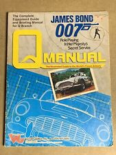 Q Manual  ~ James Bond 007 RPG Weapons Vehicles Devices