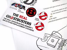 THE REAL GHOSTBUSTERS REPLACEMENT STICKERS for KENNER 1989 ECTO-500 + MORE