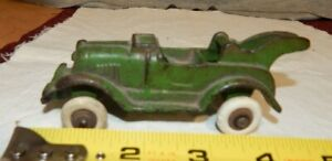 Vintage Tow Truck 1952 Rubber Tires Arcade ? stamped 1B  Cast Iron