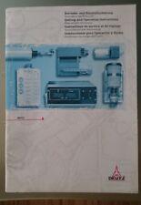 Deutz 02977468 Betriebs-Einstellanleitung Hubmagnet