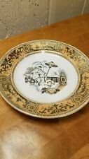 PETRUS REGOUT & CO. MAASTRICHT PAJONG MADE IN HOLLAND PLATE