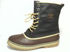 SOREL Mens Rubber Brown WATERPROOF Insulated Boots Winter Snow US 13 EU 48