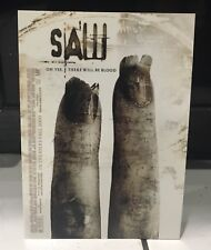 "SAW 2 SAW Two SAW ll Film Movie Promo Card 2005 Postcard  5"" x 7"" Horror MINT"