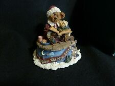 Boyds Bailey The Night Before Christmas Music Box Bearstone 270501 Silver Bells