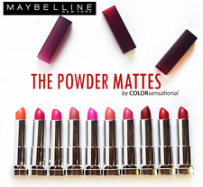 Maybelline Colorsensational Powder Matte Lipstick, You Choose